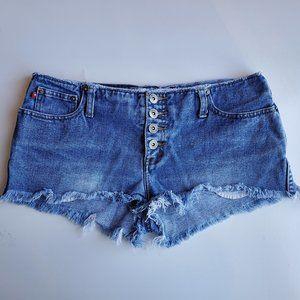 Vintage Zana-Di Button Fly Denim Shorts | 9